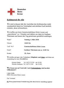 DRK Kohlemarsch